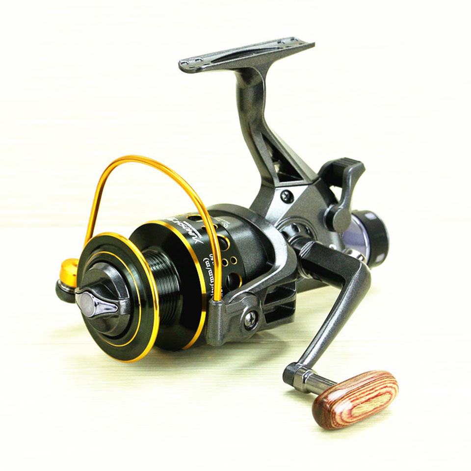 10+1BB MG30-60 Fishing Reels Metal Line Cup Spinning Reel Fishing Carp Bait Cast Spinning Fly Fishing Reel Hand Brake Wheel MG