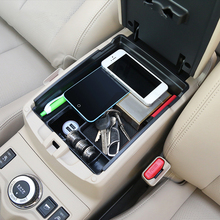 Storage-Box Arm-Rest-Glove J11 Nissan Qashqai Case Tray-Holder Console Central Car