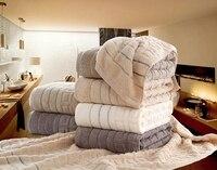 Cotton Bath Towel High Water Absorbent Super Soft Big Towel Luxury Towel Twill Solid Color Bathroom