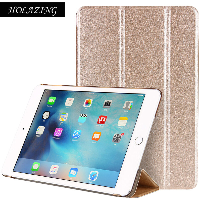 Trifold Magnetic Smart Cover For iPad Mini 4 Premium Quality Folding Design Ultra-thin PU Leather Case Mini4 Auto On/Off for ipad mini4 cover high quality soft tpu rubber back case for ipad mini 4 silicone back cover semi transparent case shell skin