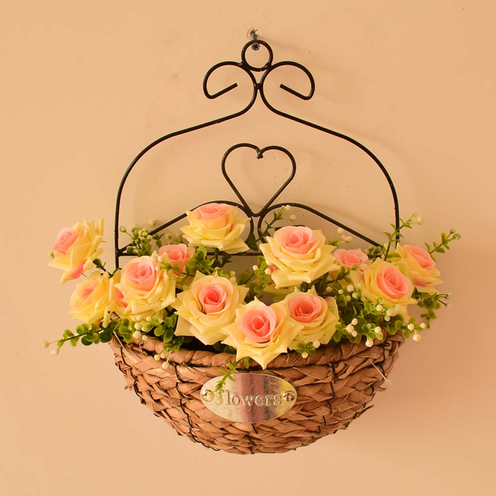 Magnificent Decorative Baskets To Hang On Wall Illustration - The ...