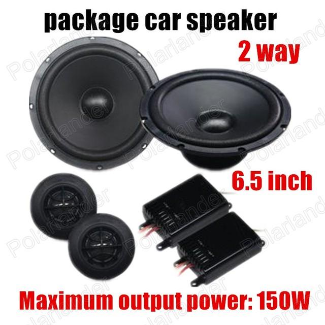 Paquete de coche Altavoz estéreo del coche de altavoces de audio de alta calidad para todos los coches de 6.5 pulgadas de 2 vías 2x150 W mejor venta de alta calidad