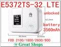 Desbloqueado huawei e5372ts-32 cat4 4g lte wifi router mifi 4g 3g batería 4g mifi 3560mha E5372 lte dongle PK E589 e5776 E5377