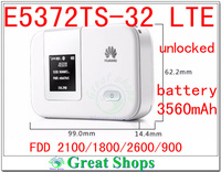 Unlocked Huawei E5372Ts 32 mifi Cat4 4G LTE wifi router 4g 3g lte E5372 3560mha battery 4g mifi dongle PK E589 E5377 e5776