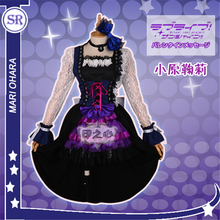 Anime  Guilty Kiss Lovelive Sunshine  Ohara Mari Rock and Roll Costume Cosplay Costume  Lovely Maid Outfit Lolita Dress  H