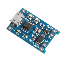 1PC Micro 5V 1A USB 18650 Lithium Battery Charging Board Module+Protection