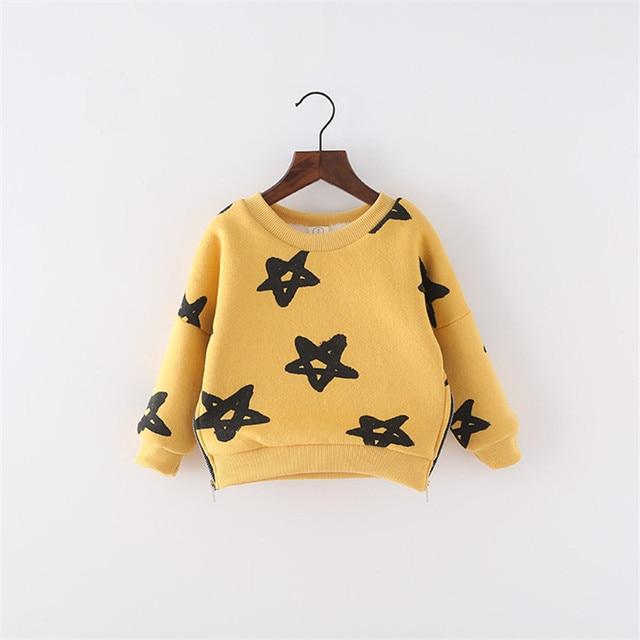 New Spring Autumn Baby Girls Boys Sweatshirts Children's Clothes Fashion Upset Kids Outerwear Hoodies Girl's Boy's Tops Tees