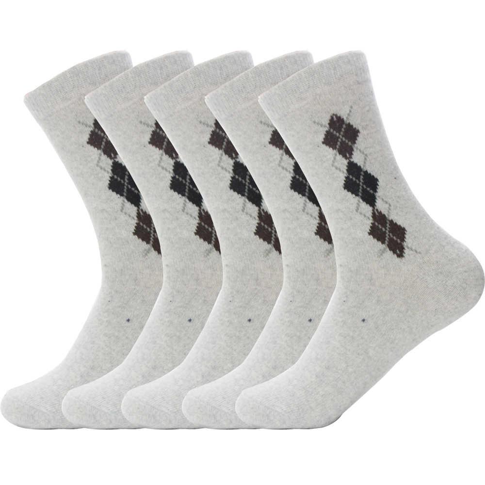 Lapin laine tissu qualité hommes printemps hiver chaussettes chaudes déodorant respirant doux affaires décontracté grand 3 grille mâle chaussette