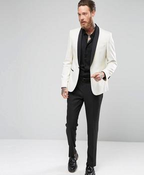 Custom Made New White Mens Wedding Suits For Men Groom Tuxedos Party Suits Formal Party Business Suits Jacket+Pants