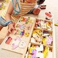 Головоломки Для Детей 6 Лет Tangram Головоломки Головоломки Для Детей образовательные Подарок На Новый Год Замороженные Игрушки Животных 70B71
