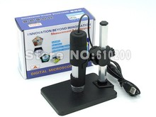 Free shipping 2015 Newest USB Digital Microscope 50X- 1000X 2MP Endoscope Electronic Magnifier Camera with holder stand 8LED