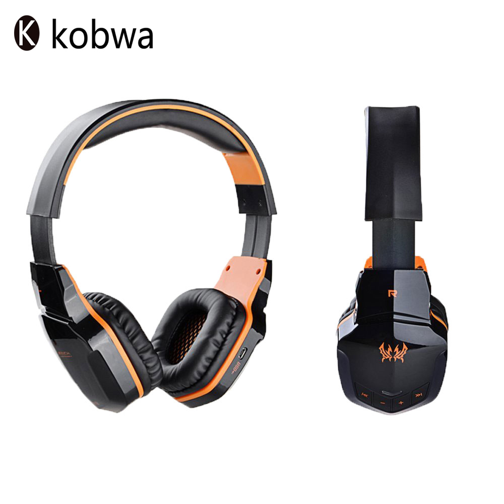 ФОТО KOTION EACH B3505 Wireless Bluetooth Gaming Headset NFC Stereo V4.1 Gaming Headphone With Microphone For Tablet PC Laptop IPhone