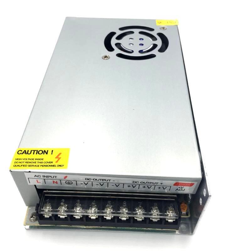 Ac 100 - 240 В в постоянный 12 В 30A 360 Вт зарядное устройство для питания из светодиодов полосы фары бесплатная доставка