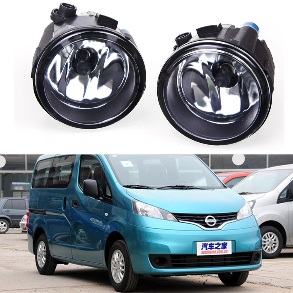 For NISSAN NV200 Box  2010-2015 Car styling Fog lights halogen lamps 1SET 26150-8990B car styling halogen fog lights fog lamps for nissan wingroad 2002 12v 1set