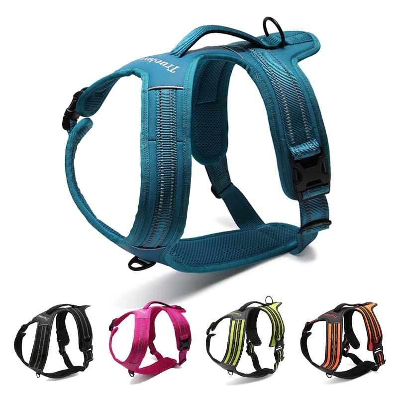 MySudui Truelove No Pull Dog Harness Dog Pet Harness Vest Large Small Harness Vest Adjustable Safety Walking Harness For Dog (1)