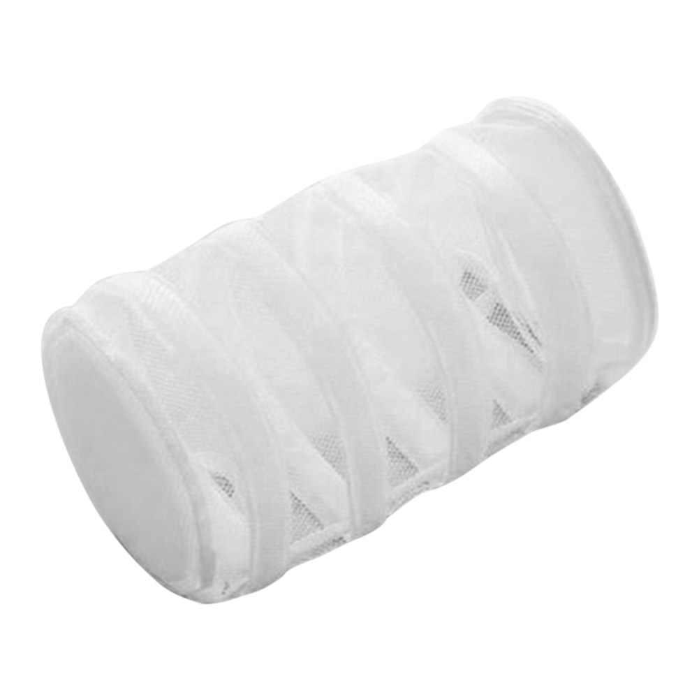 Saco de Roupa de malha Saco de Lavagem Grande Capacidade Pendurado Rede de Banda para Bra Cuidado Cueca Máquina de lavar RT99