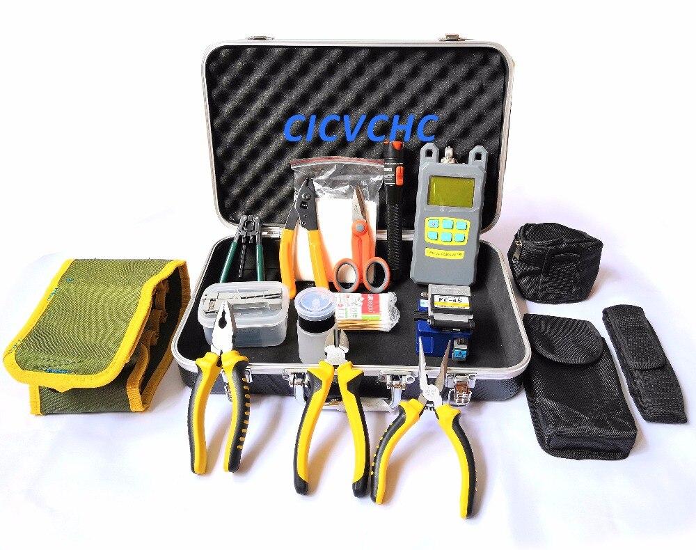 Fiber Optic Fault Locator : Low price ftth tools kit 25set high value fiber optic ftth tool kit