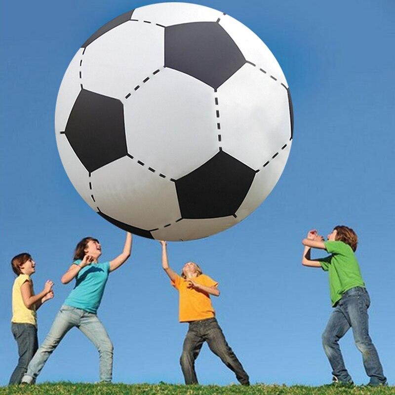 Gigante de 130cm Bola de playa inflable fútbol niños chico juego al aire libre juegos al aire libre Juegos globo pelota de voleibol gigante de PVC piscina y accesorios - 4