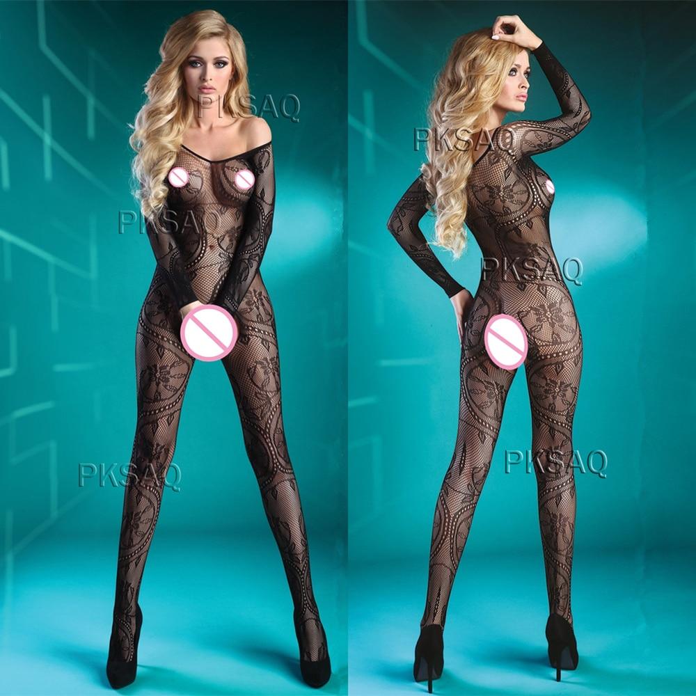 Sexy Open Crotch Bodystocking Erotic Lingerie Babydoll Porno Catsuit Fishnet Body Stocking Underwear Bodysuit Lenceria Mujer 389