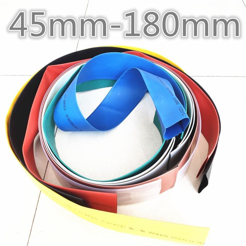 1meter 2 1 7COULEURS 45mm 50mm 60mm 70mm 80//90//100//120//150//180 mm thermor/étractables Heatshrink Tubing Tube Fil
