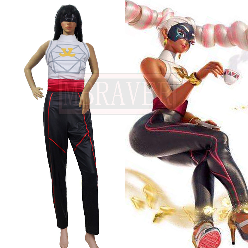 ARMS TWINTELLE Cosplay Costume With Mask