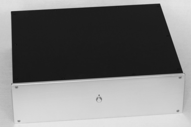 WA121 Aluminum enclosure Preamp chassis Power amplifier case/box size 350*425*120mm aluminum 4307 power amplifier enclosure dac chassis preamplifier case 430 70 350