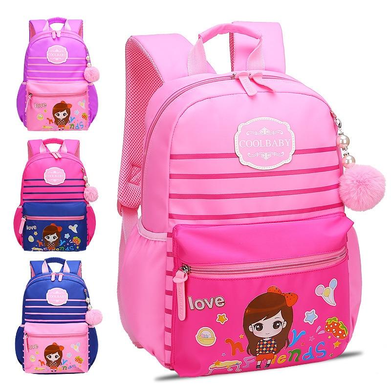 Детские школьные сумки девушки дети ортопедический рюкзак ранцы принцесса рюкзак начальная школа Рюкзак Дети сумка SAC Enfant
