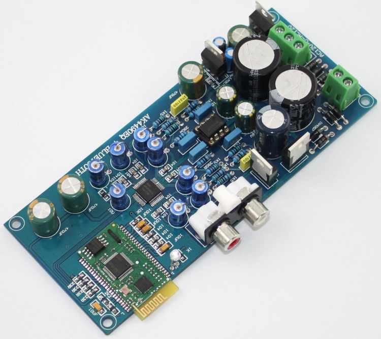 NEW Bluetooth 4.0 AK4490 I2S Giải Mã Âm Thanh Ban HIFI Bộ Giải Mã cho Thiết Bị AV LME49720