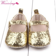 Baby Girls Cotton First Walker Toddler Sequin Infant Soft Sole Shoes bottom Bebe