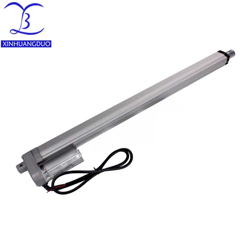 Electric Linear Actuator 12v24V DC Motor 600mm Stroke Linear Motion Controller 5mm/s-20mm/s thrust 1500N -700N Lift for ElectricElectric Linear Actuator 12v24V DC Motor 600mm Stroke Linear Motion Controller 5mm/s-20mm/s thrust 1500N -700N Lift for Electric