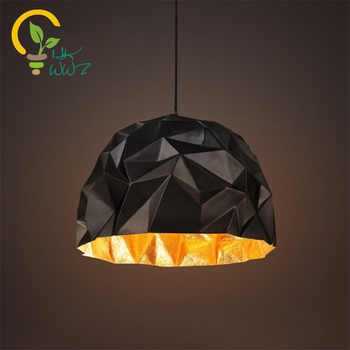 Retro Industrial Wind Loft Pendant lamps Cafe Restaurant Creative Modern Vintage Bar Hanging lamps Geometric Pendant lights - DISCOUNT ITEM  10% OFF All Category