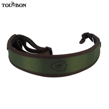 цена на Tourbon Hunting Gun Accessories Rifle Gun Sling Carry Airsoft Sling Shotgun Shooting Shoulder Strap Rubberized