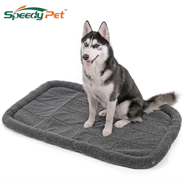 5 Size For Large Dogs Winter Warm Waterproof Bed Pet Cushion Sleeping Bed Retriever Cage Mat Pet House Mat Outdoor Travel Mat