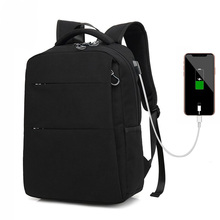 USB travel Fashion Men's Backpack Bag Male Polyester Laptop Backpack Computer Bags high school student college students bag male стоимость
