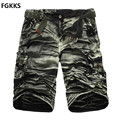 2017 Hot Sale Clothing Solid Color Military Male Shorts Fashion Mens Cargo Shorts Quality Cotton Casual Shorts Men Plus Size