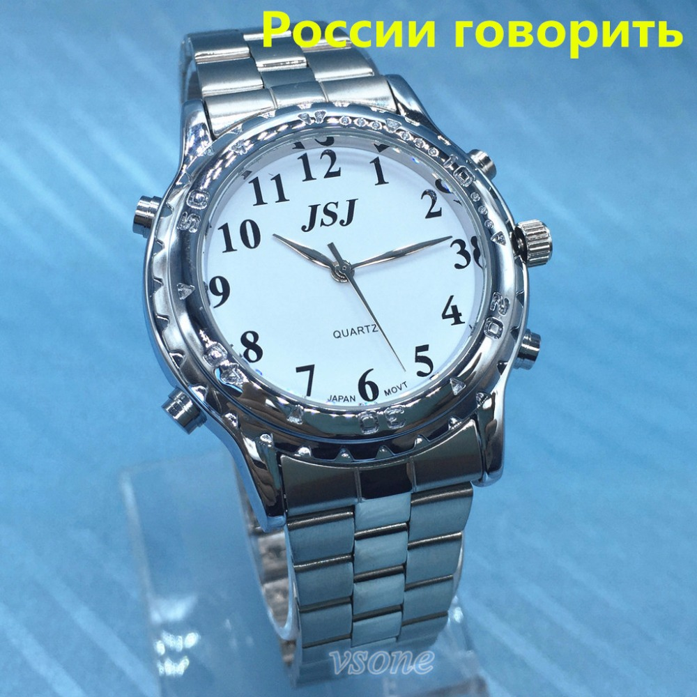 Russian Talking Watch for Blind People or Visually Impaired People Pyccknn все цены