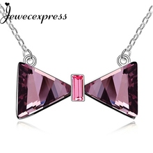 Jewecexpress Bowknot  Pendant Necklace