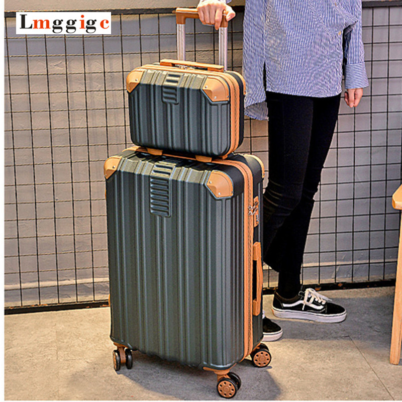 New Design 2024inch Luggage bag with Cosmetic case,Women Suitcase set,ABS Travel Box,Rolling Trolley Hardcase bagNew Design 2024inch Luggage bag with Cosmetic case,Women Suitcase set,ABS Travel Box,Rolling Trolley Hardcase bag