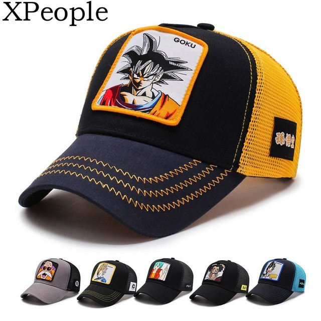 XPeople Adjustable Hat for Dragonball Dragon Ball Z DBZ Anime Fan Cosplay Costume Snapback Cap Hip Hop Hat