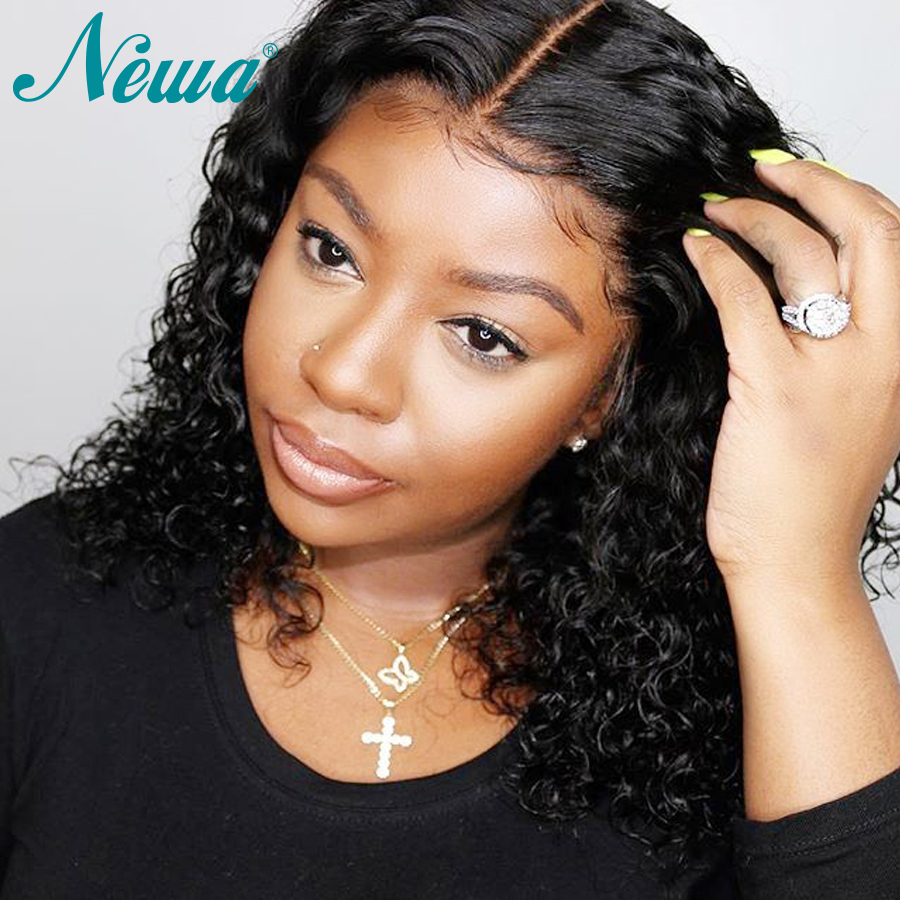Newa Hair 13x6 Lace Front Human Hair Wigs Pre Plucked With Baby Hair Brazilian Remy Water