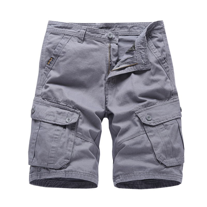New Arriva 2019 Mens Cargo Shorts Army Military Style Tactical Shorts Men Brand Clothing Cotton Loose Work Casual Short Homme