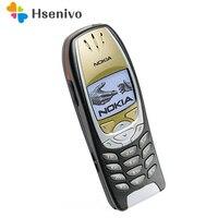 6310i Оригинальный разблокированный телефон Nokia 6310i 2G GSM трехдиапазонный Bluetooth классический мобильный телефон Восстановленный
