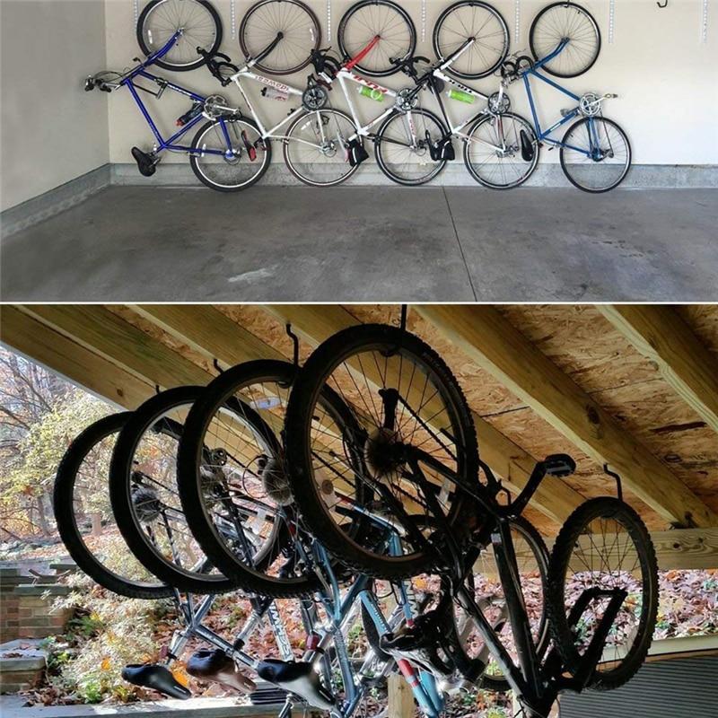 Bike Hook 10pcs Heavy Duty Garage Wall Ceiling Storage Bolt Hanger Parking Racks