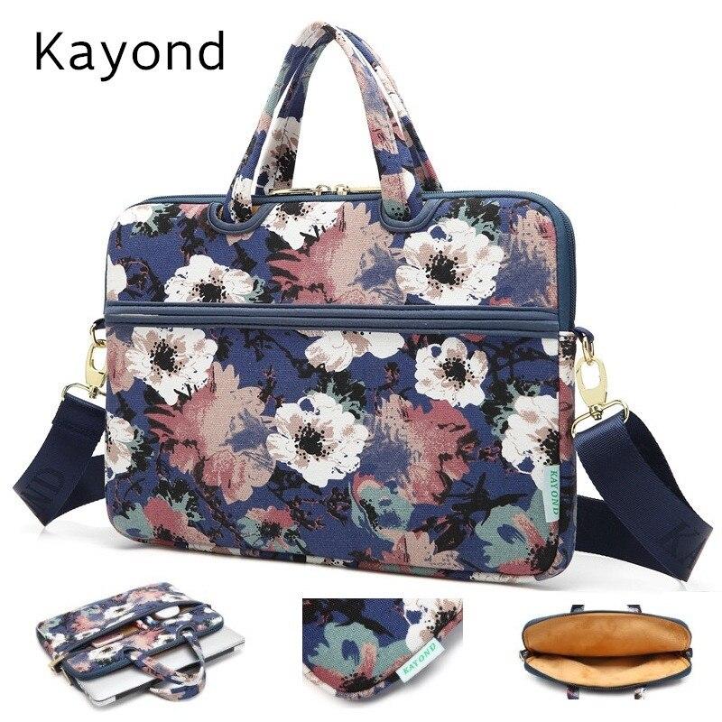 2018 Newest Kayond Brand Messenger Bag Handbag,Case For Laptop 13,14,15,15.6,For MacBook 13.3,15.6 inch, Free Drop Shipping
