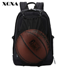 Фотография XQXA School Backpack Men Casual 15.6 Inch Laptop Bag Large Capacity Quality College High School Bags for Boys Teenagers