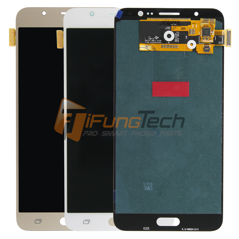 Test New For Samsung J7 2016 Lcd Display J710 Lcd Replacement J710F J710M J710H J710FN Lcd Touch Screen Digitizer Free Shipping  цены