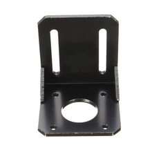 Alloy Steel Mounting bracket for 42mm NEMA 17 stepper motor with Screws Black
