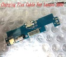 1 ШТ. новый высокое качество USB зарядка зарядки зарядное порт док разъем платы flex кабель для Lenovo S860 мобильный телефон