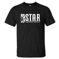 STAR LABORATORIES T Shirts Men Ltter Print Man T Shirts Short Sleeve O Neck Tshirt Cotton