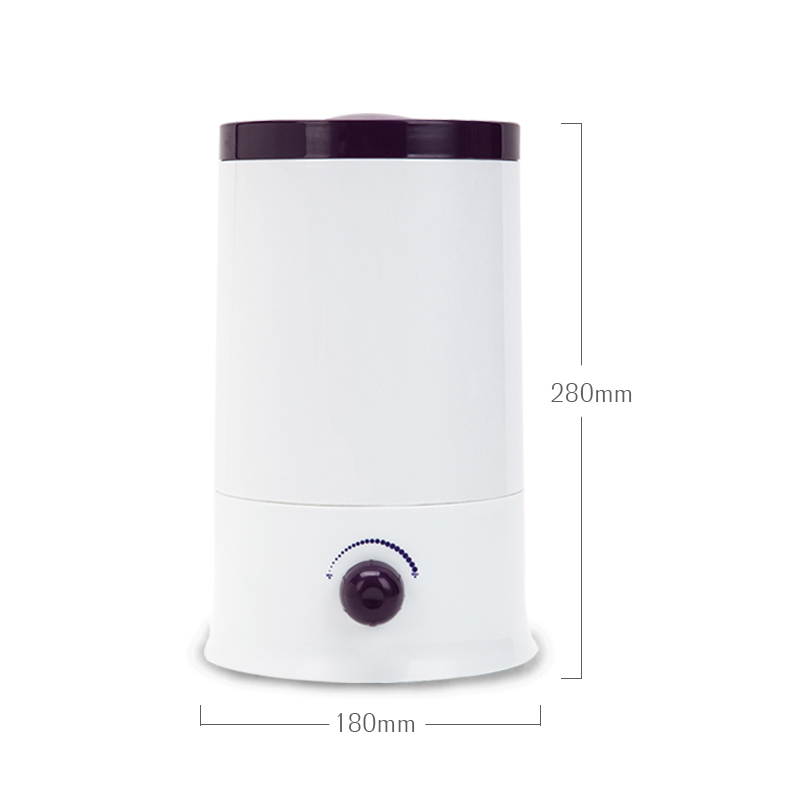 2.4L Minimalist Design Air Humidifier With Continuous Humidification Ultra Quiet Technology Mist Maker With Adjustable Mist For Your Need